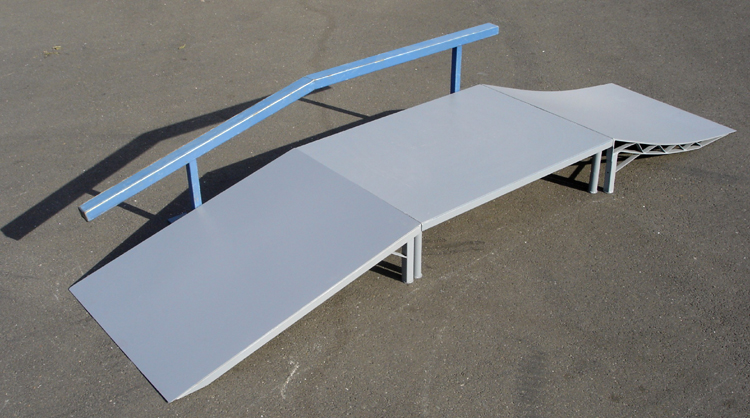 Skateboard Ramps And Tables. Combinations ...